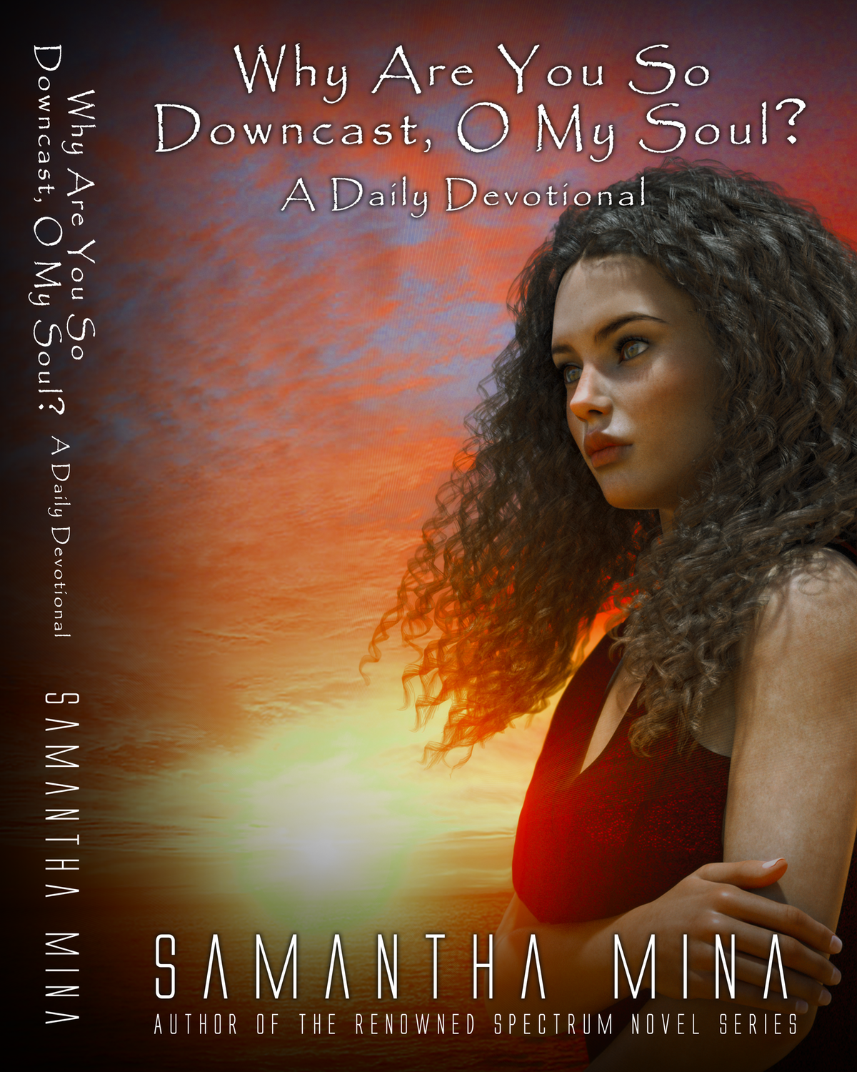 """Cover and spine for book titled: """"Why Are You So Downcast, O My Soul? A Daily Devotional"""""""