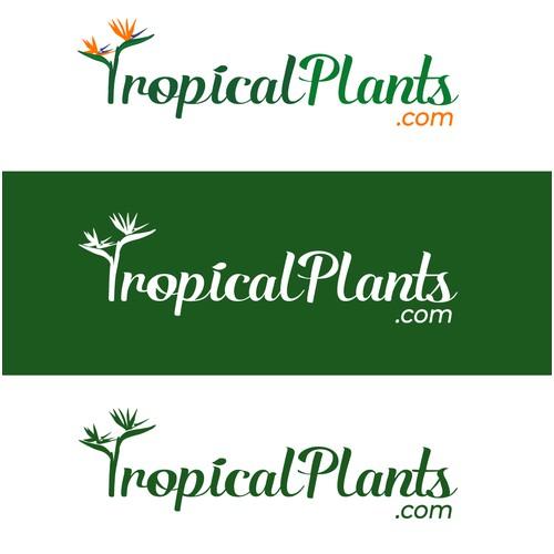 Logo Design for TropicalPlants.com