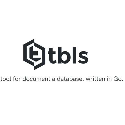 tbls is a CI-Friendly tool for document a database, written in Go.