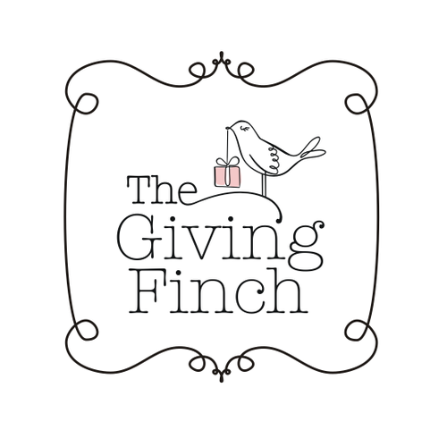 Papercrafts company logo design - The Giving Finch