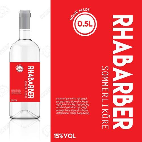 Bottel label
