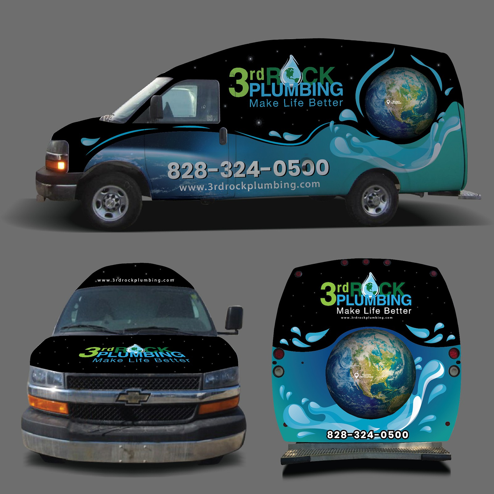 3rd Rock Plumbing needs a logo that is out of this world