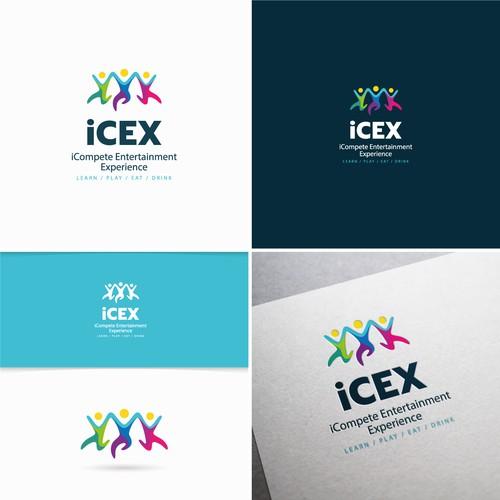 Conceito de logo para iCEX