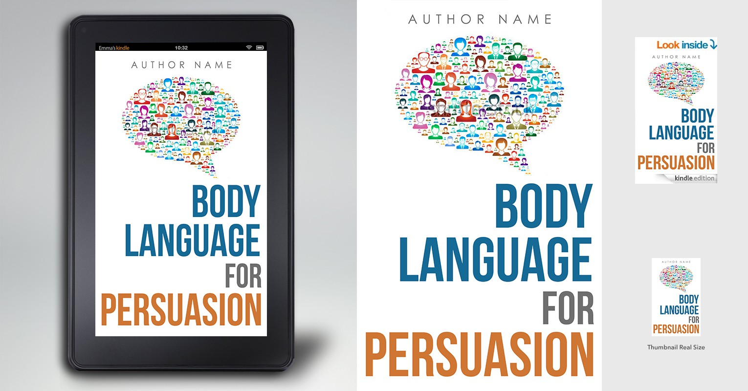 Design an eBook cover for a subconscious, body language communication method