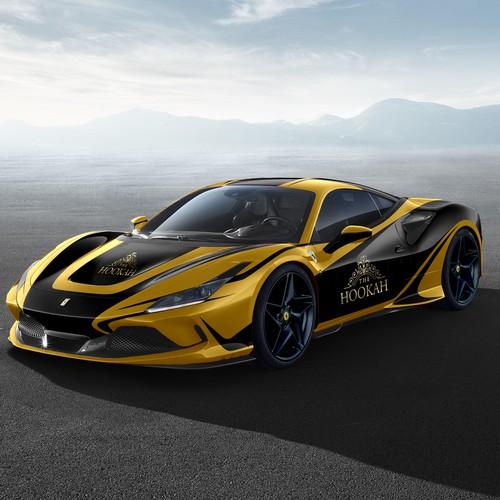 Design for Ferrari F8 Tributo