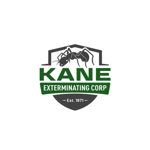 Family pest control company looking for a killer new look!