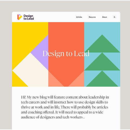 Design to Lead