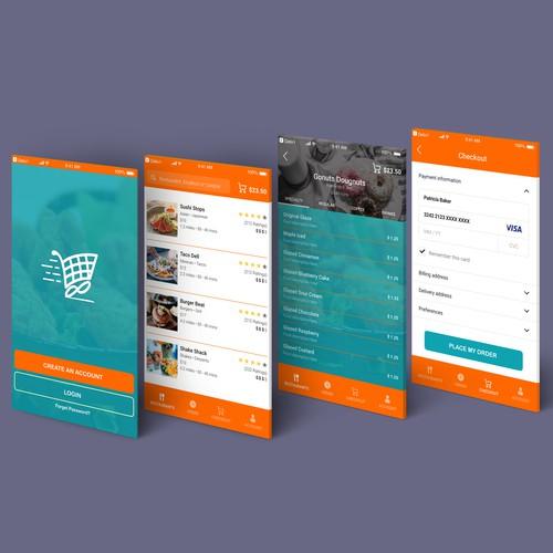 Deliv'r App Design