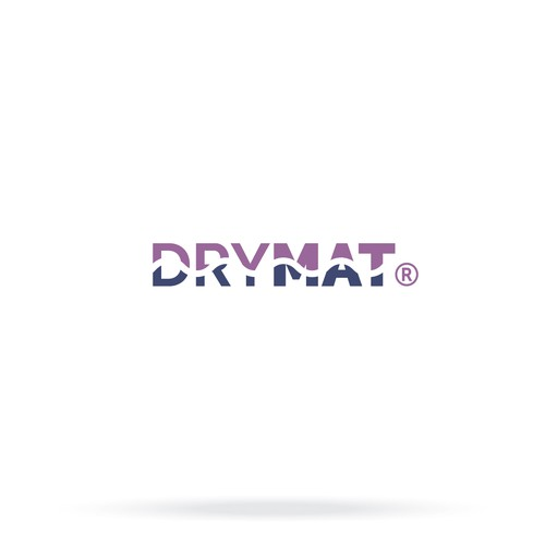 DryMat Product Logo design