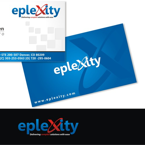 logo and business card for epleXity