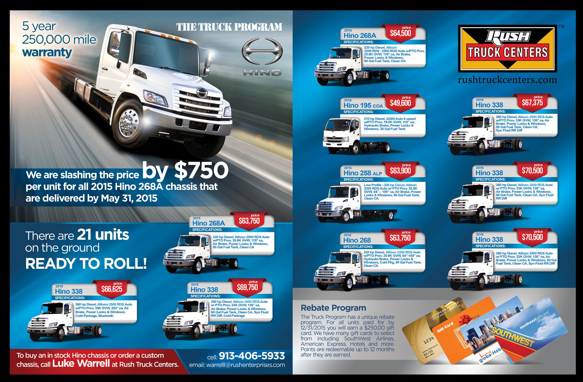 Hino Truck Sale