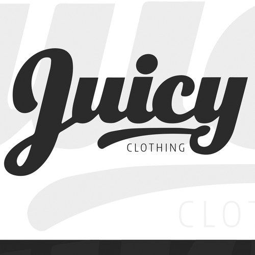 Logo concept for Juicy Clothing