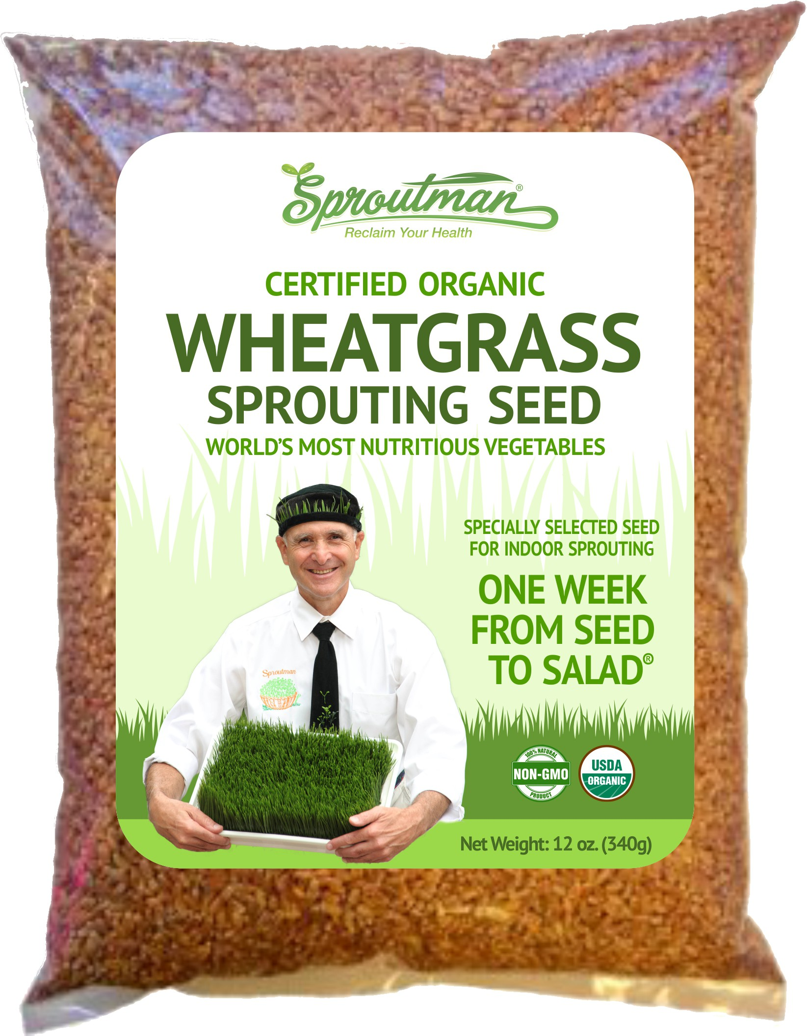 Create a new base label for Sproutman's Organic Sprouting Seeds