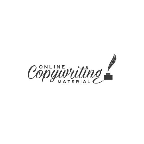 Writing logo for Online Copywriting Material