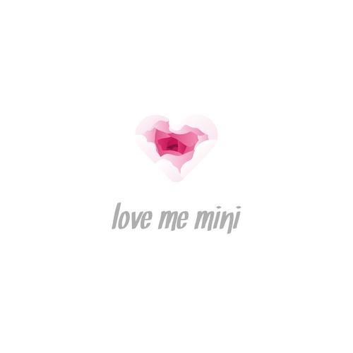 Logo concept for Love me mini