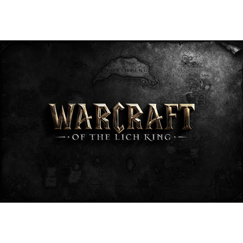 Logo design for Warcraft Of The Lich King