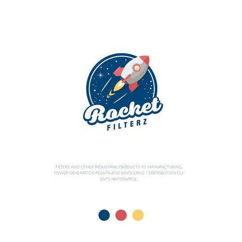 Logo for Rocket Filterz