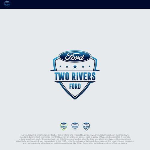 bold logo concept for automotive