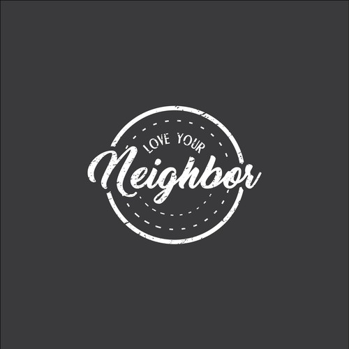 logo concept for love your neighbor