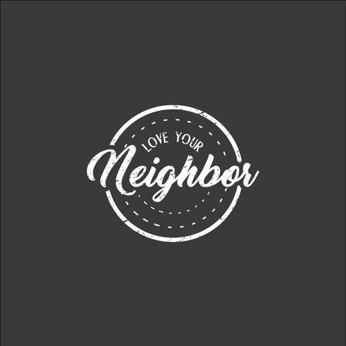 logo concept for love your neighbor