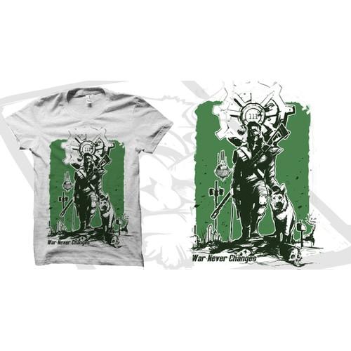 Fallout 4 T-shirt design
