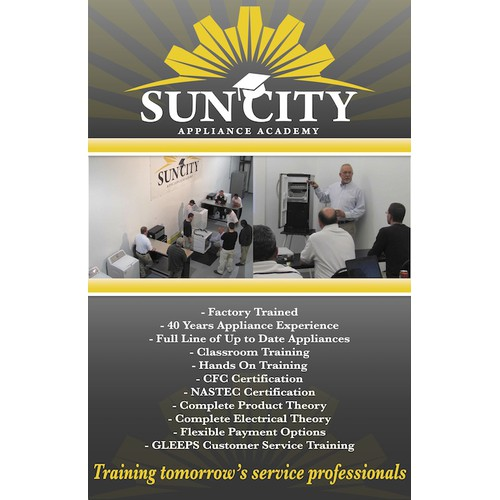 Sun City Trade Show Sign