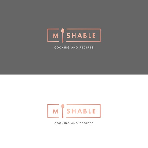 Mishable, cooking and recipes logo