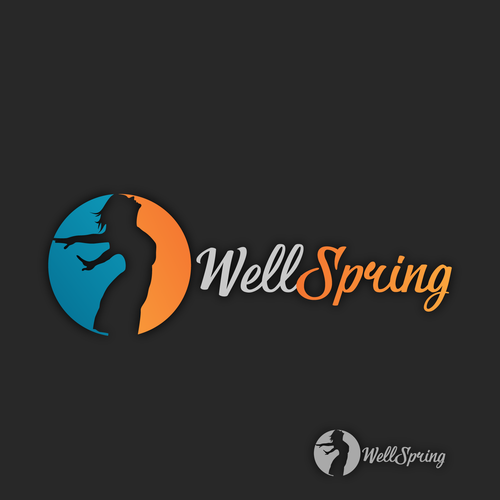 Unique logo for wellspring