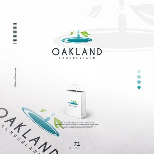 Oakland Launderland logo