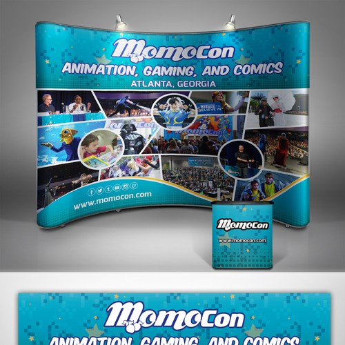 Help Design New Promotional Booth for MomoCon, The Southeast's Largest Gaming Event