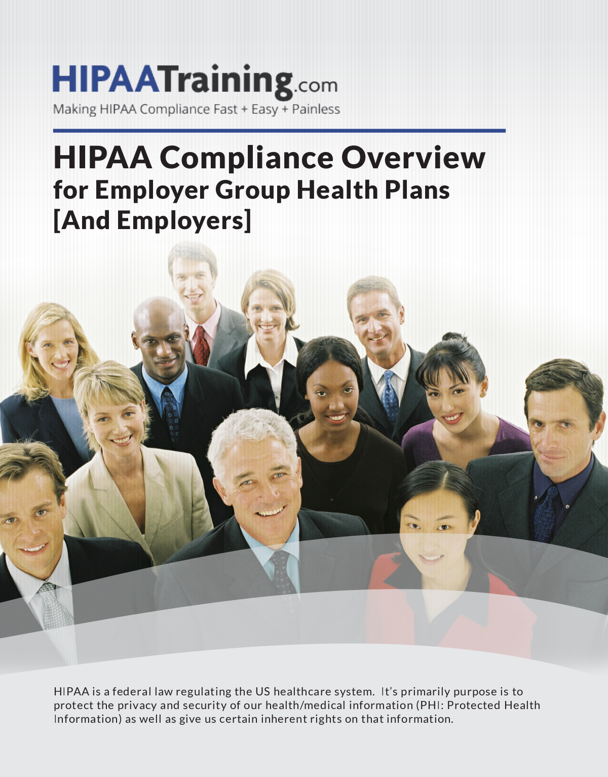 Brochure Variations of HIPAA Compliance Overview for Healthcare Providers