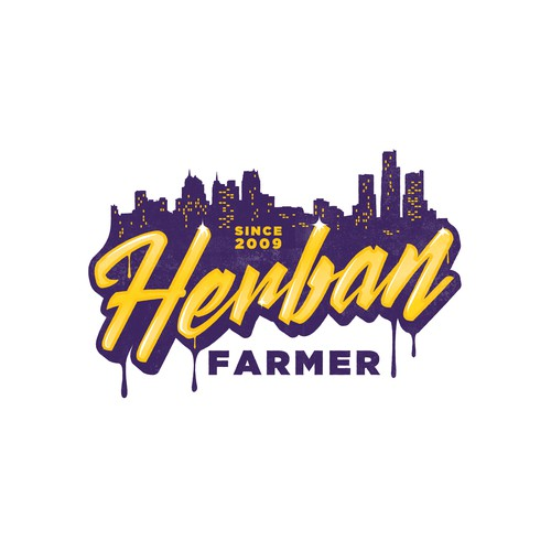 Logo design for Herban Farmer