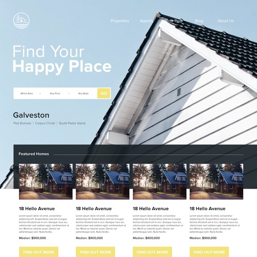 Real Estate Concept Site