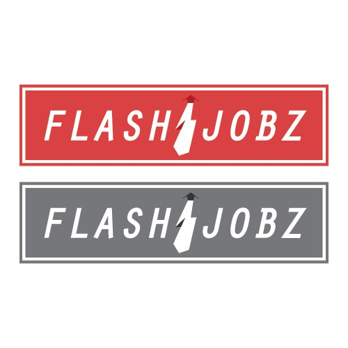 FlashJobs - HR company needs a new logo