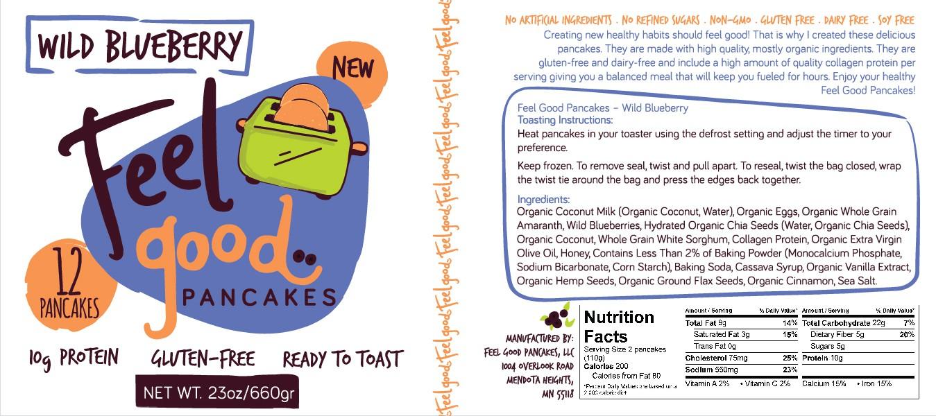Feel Good Pancakes Package Labels