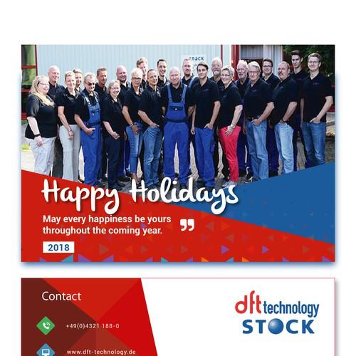 DFT Stock Postcard