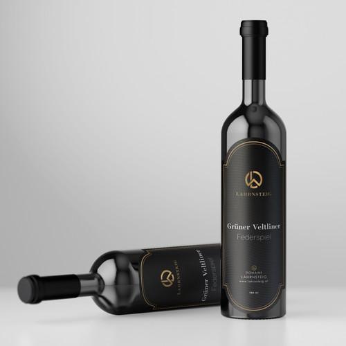Lahrnsteig Wine Label