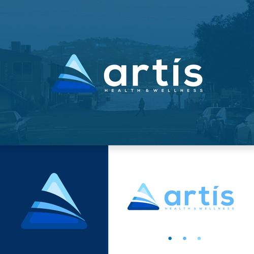 Rounded Triangle Bold Lowercase logo