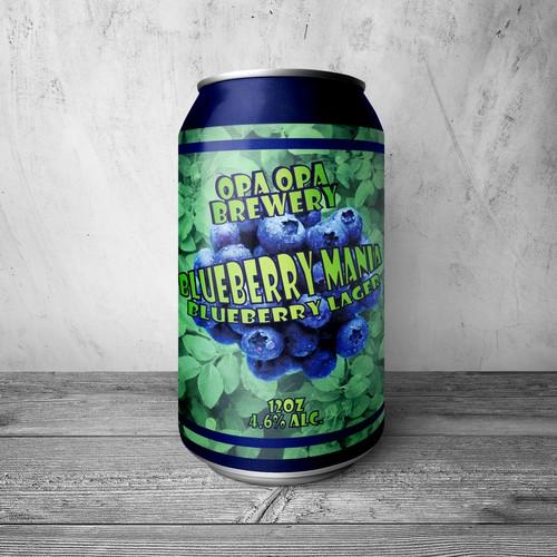 Opa Opa Brewery Blueberry Lager