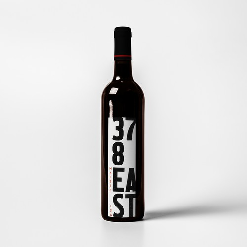 Wine label using strong type