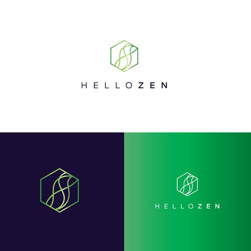 Modern logo for Cannabis store