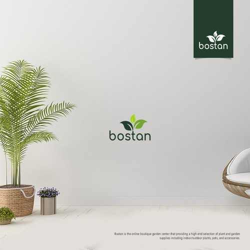 Bostan Logo Design
