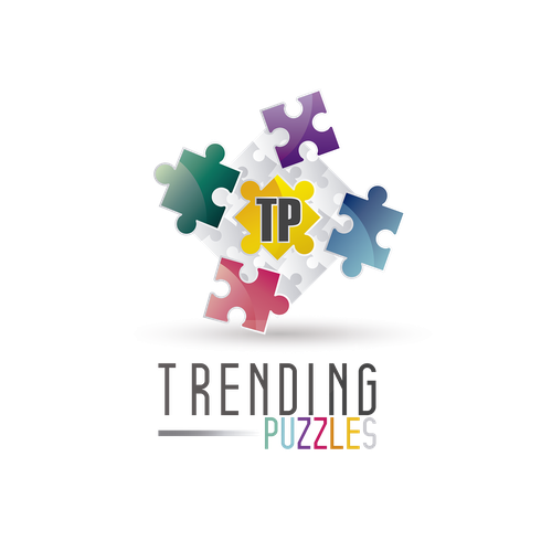 Logo for Trending Puzzles.