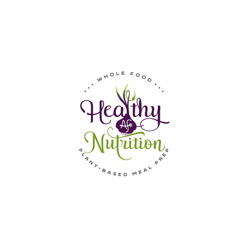 Logo for Healthy AF Nutrition