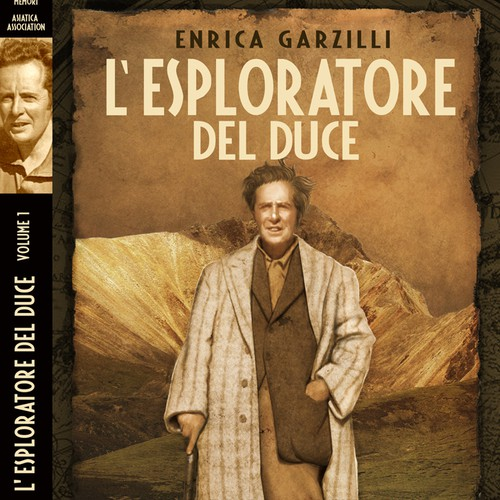 Design a book cover for a historical biography about a famous explorer