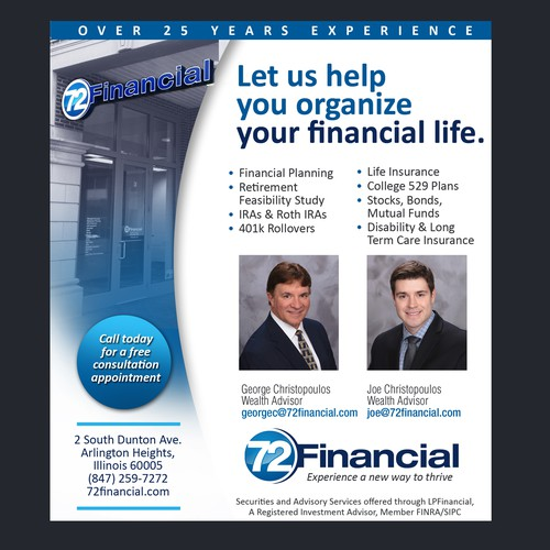 Financial Company ad