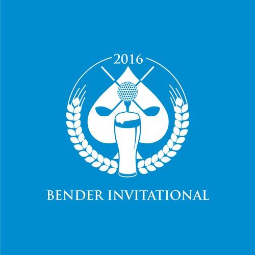 Bender Invitational Logo Design