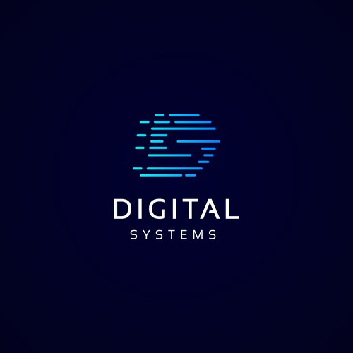 Digital Systems logo concept