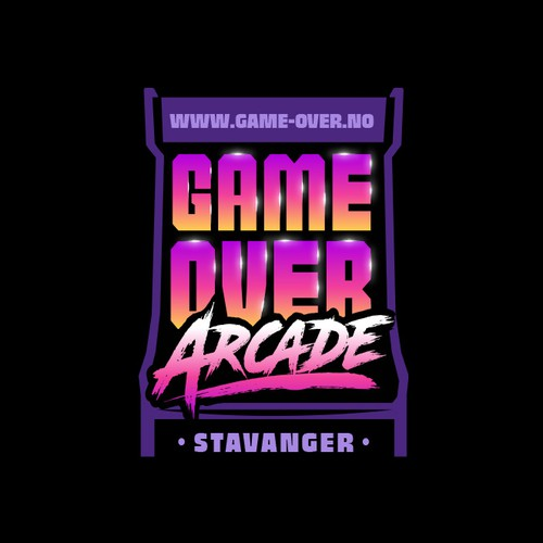 Logo for a new chain of Arcades