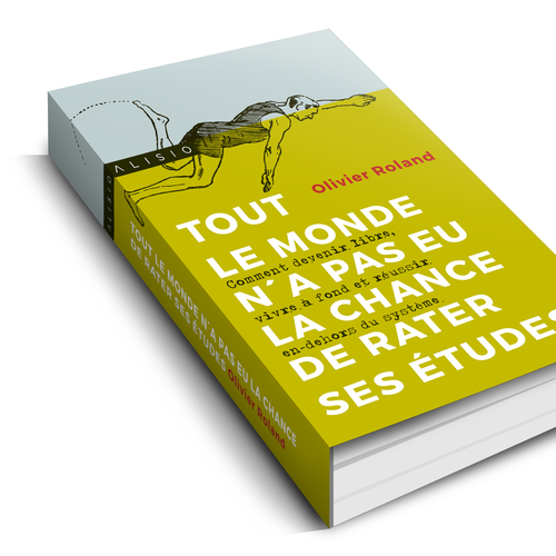 Cover concept for french author